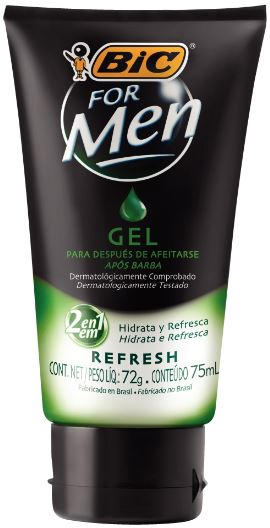 GEL POS BARBA REFRESH 90ML C/1
